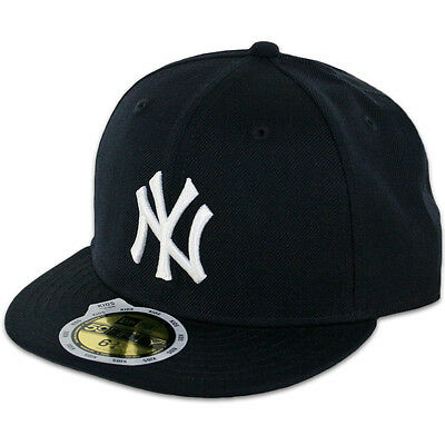 New Era 59FIFTY Fitted MLB AC YOUTH On Field New York Yankees Game Cap