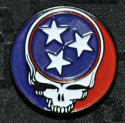 Tennessee Dead Grateful Hat Pin Widespread Poster Summer Tour Ticket 50th
