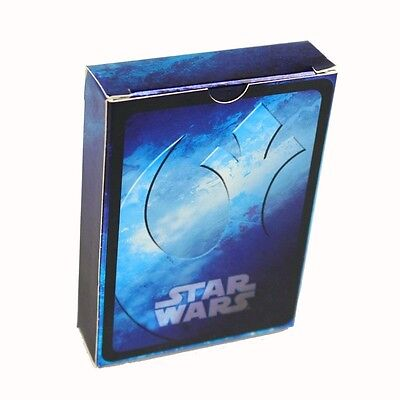 STAR WARS - Collectable Playing Cards - Blue Deck - CARTAMUNDI Brand New