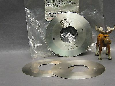 """Universal Sewing 80C1-61H8 Round Fabric Blade 5 1/4"""" High Speed Lot of 3"""