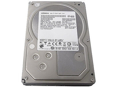 "Hitachi 2TB 7200RPM 3.5"" SATA2 Internal Hard Drive -PC/ NAS/ RAID/ CCTV DVR"