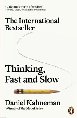 Thinking, Fast and Slow by Daniel Kahneman (New Paperback Book)