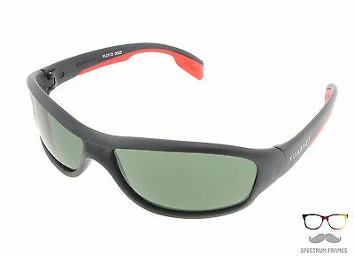821998ae670 Vuarnet Sunglasses 0113 0002 1121 Black   Red   Green PX 3000 Sport  Authentic