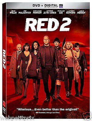 RED 2    Bruce Willis Non Ultraviolet  DVD ** VF ** NEUF