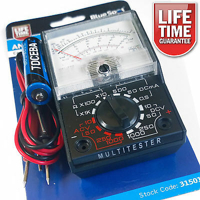 how to use a multimeter to test a circuit