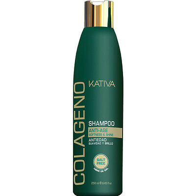 Kativa Colageno Anti-Age Shampoo Salt Free 250 ml / 8.45 fl.oz
