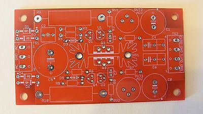 DIY PCB - Two-channel shunt-regulated adjustable bias supply