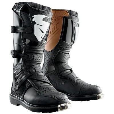 Thor Blitz BLACK Adult Mens MX Sole Motocross Offroad  Boots ALL SIZES
