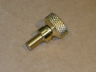 Thumbscrews - Knurled Head - Solid Brass - 4 Pieces