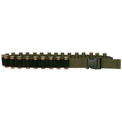 New Fox Outdoor Shotgun Shell Bandolier Cotton Canvas Adjustable Olive Drab