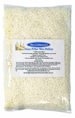 Soya Candle Wax for Pillar Candles in Pellet Form