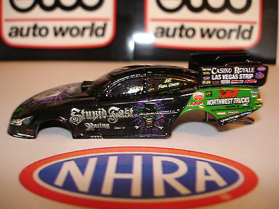 AUTO WORLD ~ BOB BODE STUPID FAST RACING FUNNY CAR BODY ~ FITS AFX, AW, JL