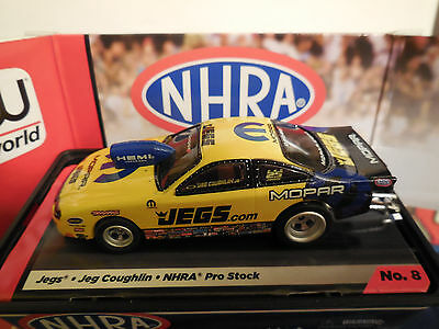 AUTO WORLD ~JEGS COUGHLIN JEGS PRO STOCK CAR ~ IN JEWEL CASE ~ FITS AFX, AW, JL
