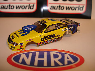AUTO WORLD ~JEGS COUGHLIN JEGS PRO STOCK CAR BODY  ~ FITS AFX, AW, JL