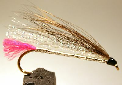 ICE FLIES. Streamer fly, Black nosed. Size 2, - 10 (3-pack)