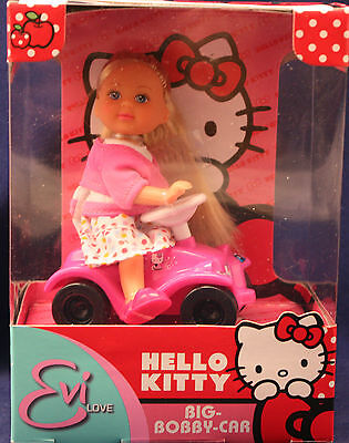 """HELLO KITTY** Eve Love**Big Bobby-Car** SIMBA-TOYS**neu und unbespielt"