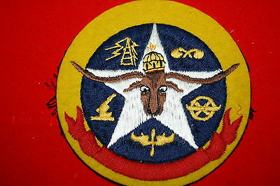 Rare Original 8Th Aaf Army Air Force Chemical Squadron Patch British Made