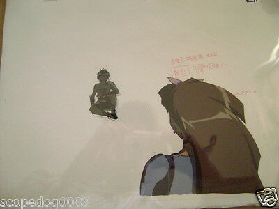 The Vision Of Escaflowne Movie Van Fanel Anime Production Cel