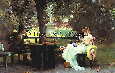 Stone Marcus In Love2 Artist Painting Reproduction Handmade Oil Canvas Repro