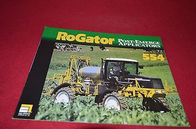 RoGator 854 554 Sprayer Dealers Brochure DCPA