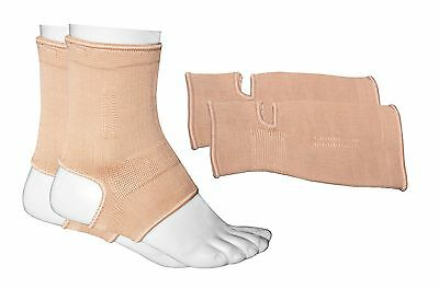 Prime Sports MMA Ankle Supports Muay Thai Compression Kick Boxing Wraps Pair