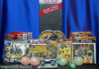 Monster Jam Party # 20 Monster Jam Party Pieces Party Favors License Plate