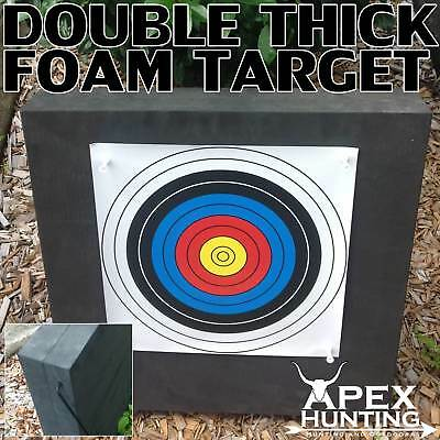 Double Thick High Density Foam Target For Compound Or Recurve Bows