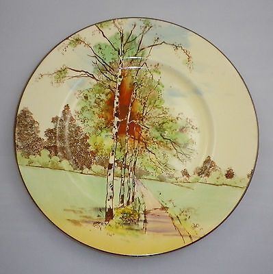 "Royal Doulton Series Ware "" AUTUMN GLORY '  Pattern RACK PLATE"