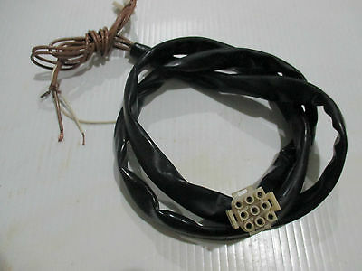 Used Wascomat W125 3Phase Motor Wiring Harness