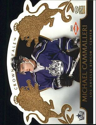 2002-03 Crown Royale #117 Mike Cammalleri RC /2299