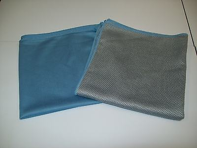 New Amazing Glass Cleaning and Glass Finishing Microfibre Cloth Combo