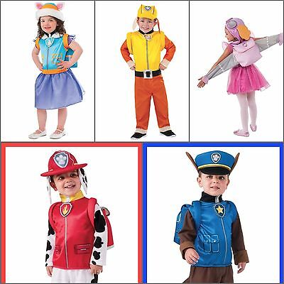 Paw Patrol Costumes - Dress Up - Marshall, Skye, Rubble, Everest and Chase