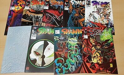 Spawn Prestige 1-59 + Variant 5, Curse of Spawn 1-14 + Variant 5, + 4 Specials