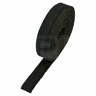 "HeatShield Black Exhaust Wrap - 1"" x 25ft Thermal Insulation Roll - Single"