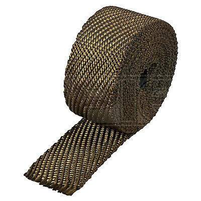 "HeatShield Lava Exhaust Wrap - 2"" x 25ft Thermal Insulation Roll - Single"
