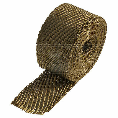 "HeatShield Lava Exhaust Wrap - 2"" x 15ft Thermal Insulation Roll - Single"