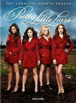 Pretty Little Liars: The Complete Fourth Season (DVD, 2014, 5-Disc Set) SEALED