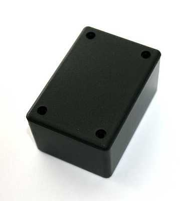 "ABS Black Plastic Project Box,  1-3/4"" x 2.5"" x 1-1/4""  (PB114H)"