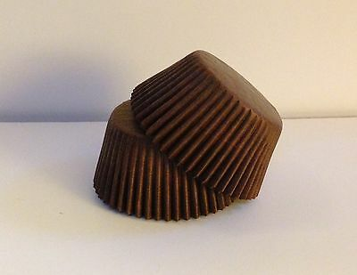 Glassine Brown standard size cupcake liners