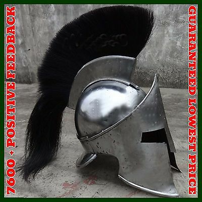 Collectible Medieval Armour King Leonidas Greek Spartan 300 Helmet Wearable Helm