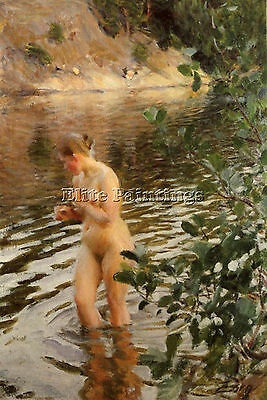 Zorn Frileuse Artist Painting Reproduction Handmade Oil Canvas Repro Art Deco