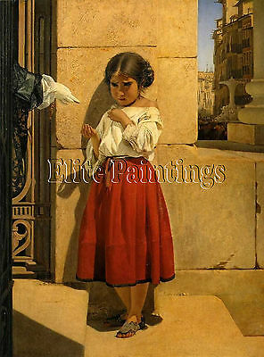 Beggar Girl Spaniard Artist Painting Reproduction Handmade Oil Canvas Repro Deco