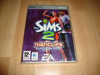 The Sims 2 Nightlife By Ea Games Expansion Pack Apple Mac Dvd New Factory Sealed