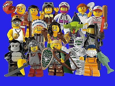 New Lego Minifigures Series 3 8803 Complete Set 16 Minifigures