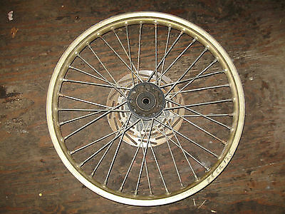1986 Honda Cr 125 Front Wheel Brake Disc Evo Vmx Ahrma   Freeshipus+Canada