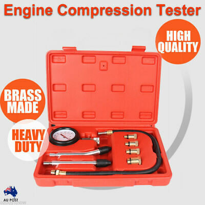 Petrol Engine Compression Test Tester Kit Set For Automotive Car Tool