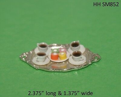 Cake Roses 1/12 Scale Dollhouse Miniatures Food Dessert Kitchen Party