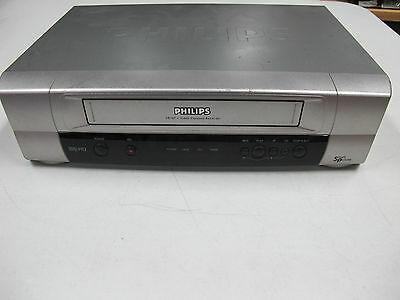 PHILIPS VHS Player  MODEL : VR107/75 Tested Working no Remote