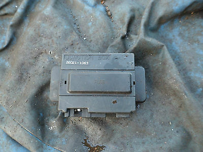Fuse box junction box for a GPX 750 R GPZ