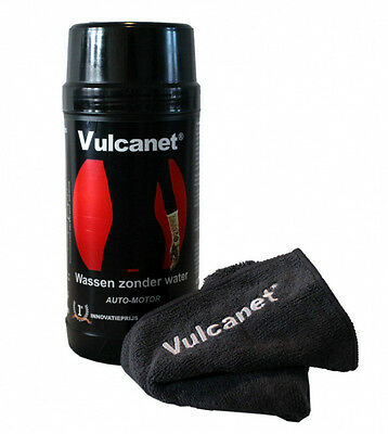Vulcanet Cleaning Kit 80 Towel + Towel Microfibre Auto Motorcycle Bici Mtb